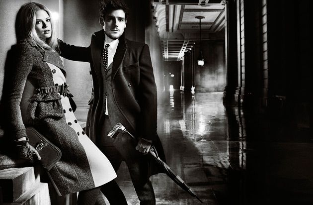 Burberry Fall 2012 ads