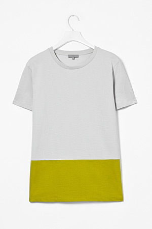 forum buys - COS color block tee mens