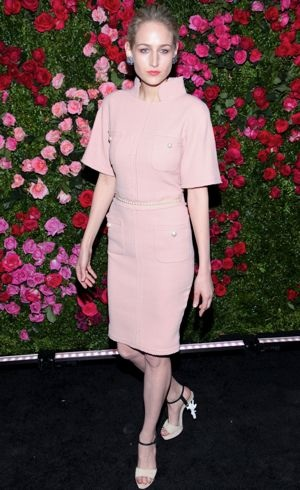 Leelee Sobieski 2012 Tribeca Film Festival Chanel Artists Dinner New York City April 2012
