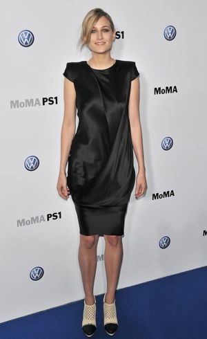 Leelee Sobieski Launch Of Partnership Between Volkswagen and MoMA New York City May 2011