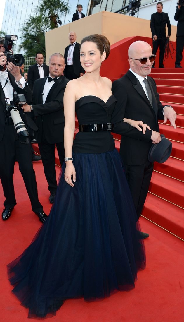 Marion Cotillard Rust and Bone premiere 65th annual Cannes Film Festival