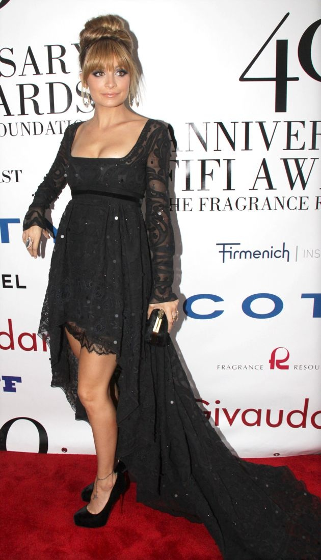 Nicole Richie 40th Annual Fifi Awards New York City