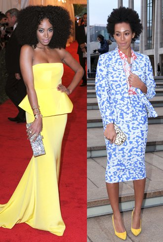 bb493e19b96e It must be hard to step out from behind Beyoncé's shadow, but Solange  Knowles has swiftly become a red carpet staple with as much sense of style,  ...