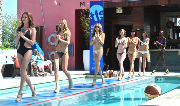 The Fashion Spot Runway to Summer Pool Party and Fashion Show