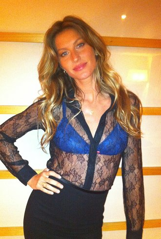 Gisele Launches a Lingerie Line and Other Celeb Twitpics ...