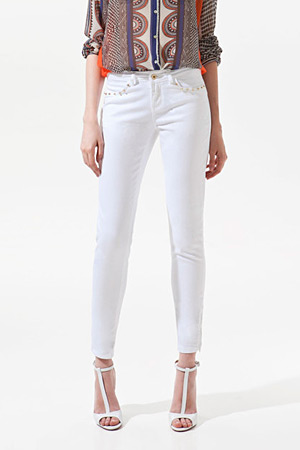 forum buys - Zara white skinny jeans