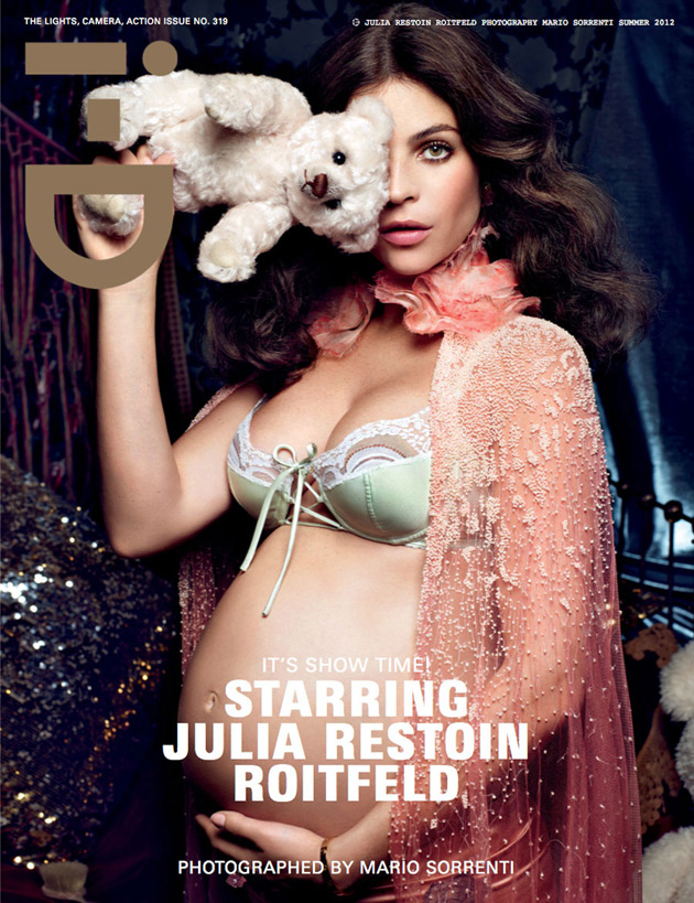 i-D Summer 2012 - Julia Restoin Roitfeld by Mario Sorrenti