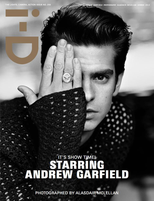 i-D Summer 2012 Cover - Andrew Garfield by Alasdair McLellan