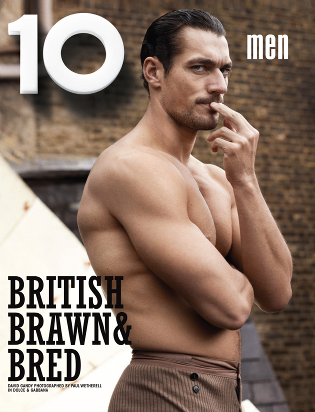 10 Men Magazine - David Gandy photographed by Paul Wetherell