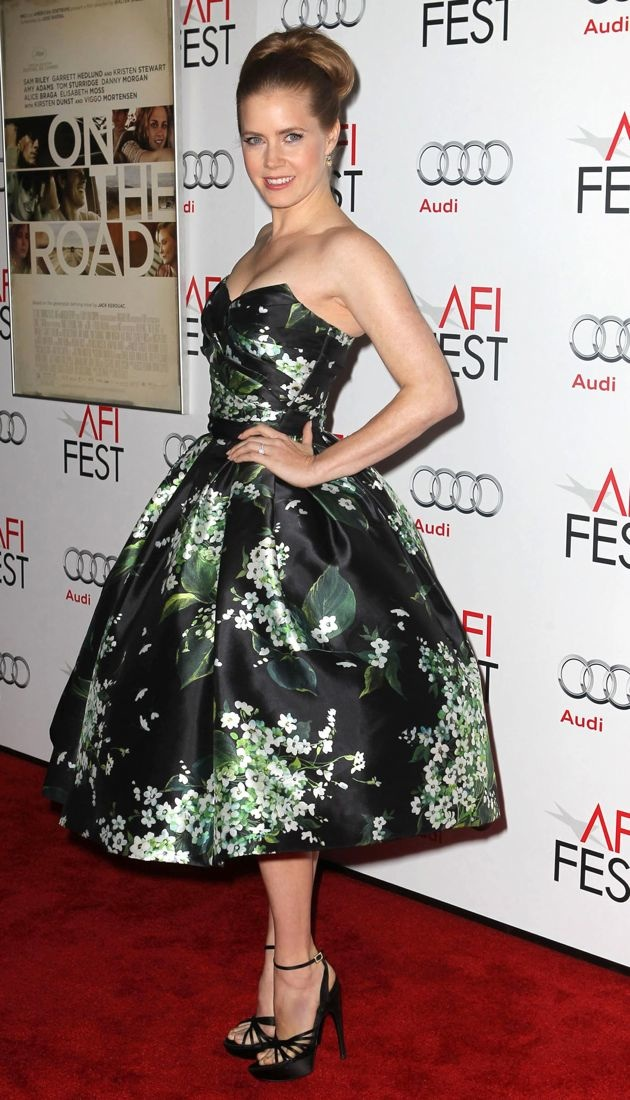 Amy Adams 2012 AFI Fest screening of On the Road Los Angeles