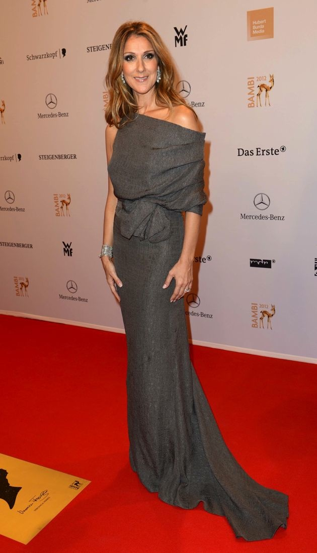 Look Of The Day Celine Dion Resonates On The Red Carpet