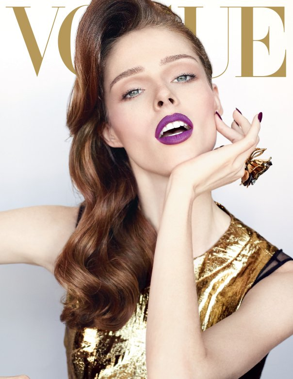Here's Ms. Coco Rocha making the best-ever argument for gold gowns by ...