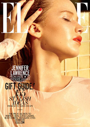 Elle December 2012 - Jennifer Lawrence