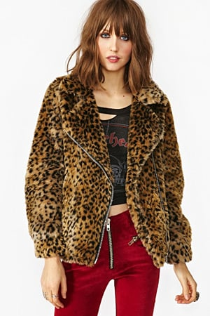 Nasty Gal faux fur jacket - forum buys
