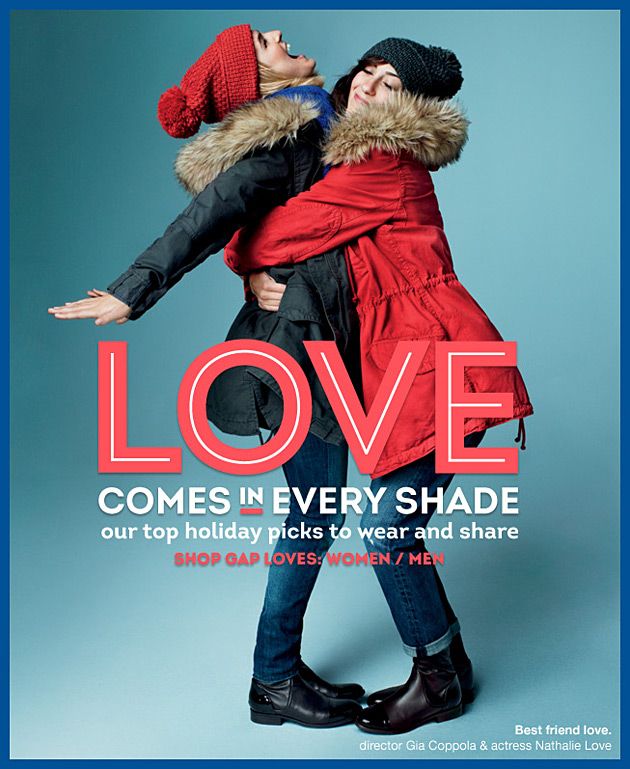 Gap Is Feeling The Love This Holiday Season Forum Buzz