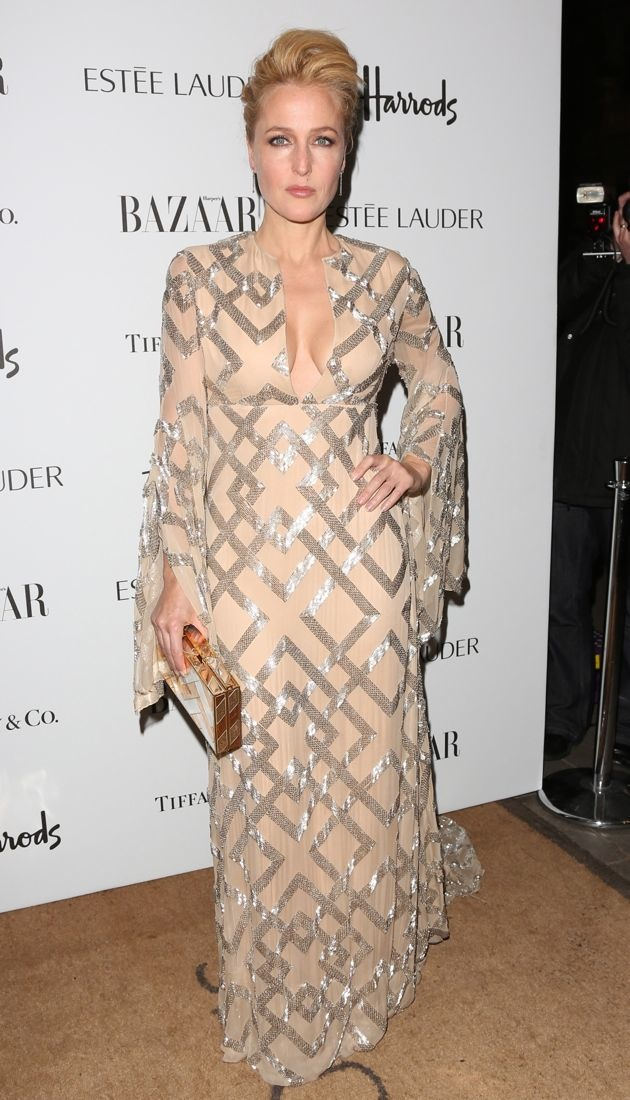 Gillian Anderson Harpers Bazaar Women of the Year 2012 London