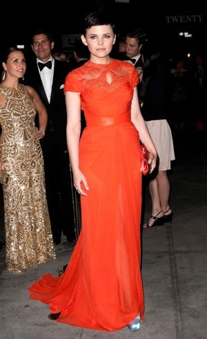 Ginnifer Goodwin 2012 Met Gala New York City May 2012