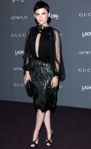 Ginnifer Goodwin LACMA 2012 Art Film Gala Los Angeles Oct 2012