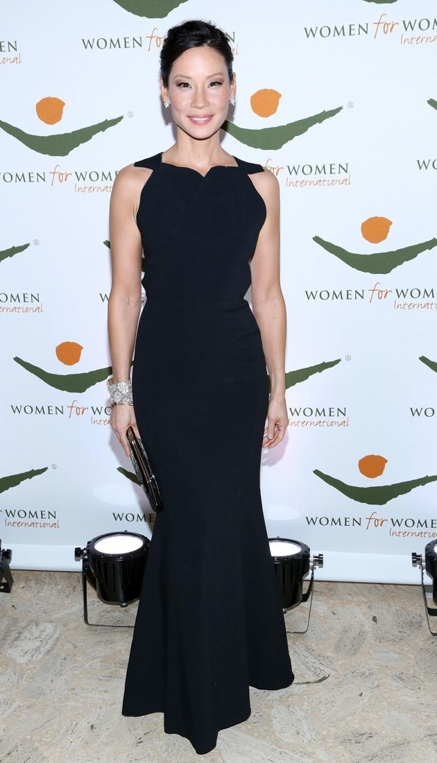 Lucy Liu 2012 Women For Women International Gala New York City