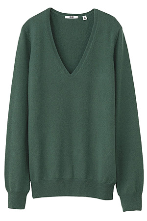 Uniqlo cashmere sweater - forum buys