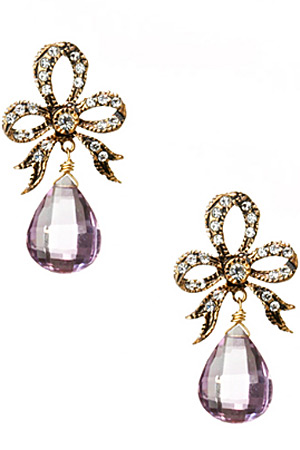 Azaara amethyst earrings - forum buys