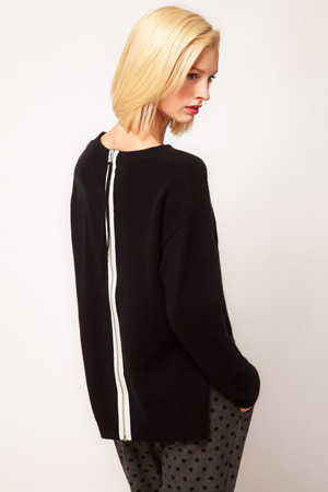 ASOS zip back sweater - forum buys