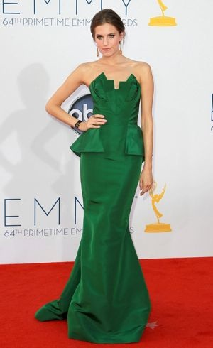 Allison Williams 64th Annual Primetime Emmy Awards Los Angeles Sept 2012