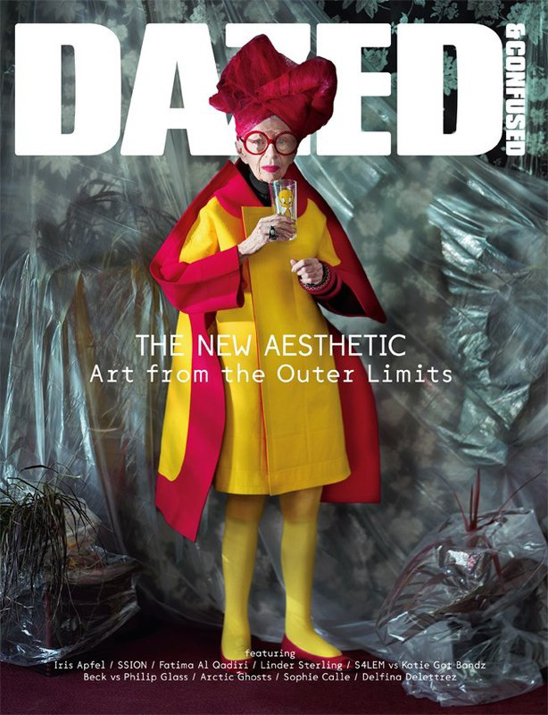 Dazed & Confused November 2012 - Iris Apfel photographed by Jeff Bark