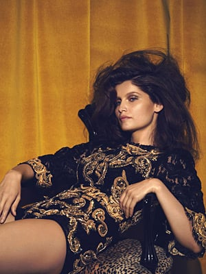 Flair November 2012 - Laetitia Casta photographed by Sean and Seng