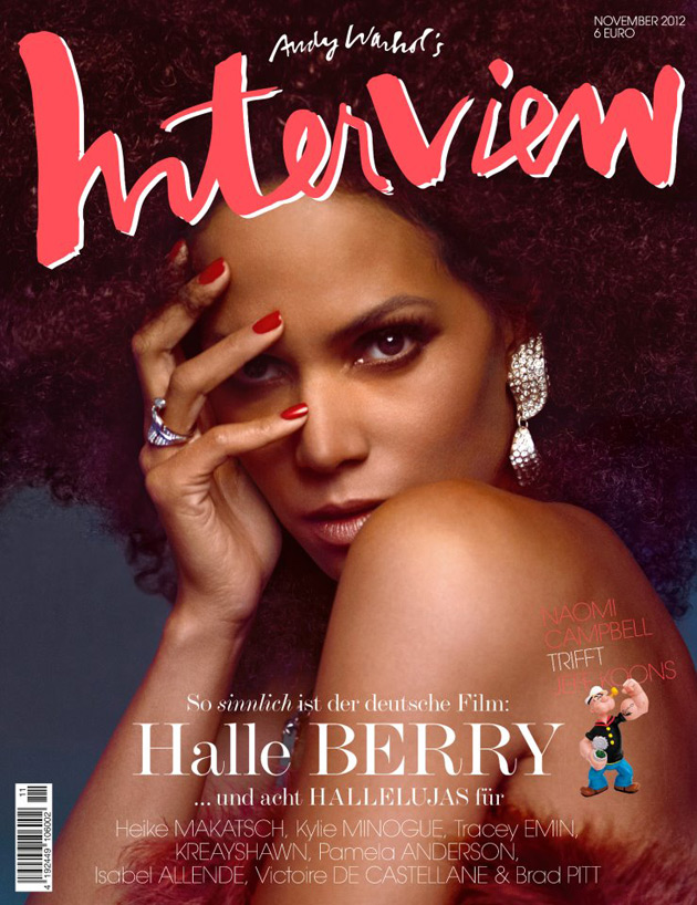 Halle Berry - Interview Germany - November 2012