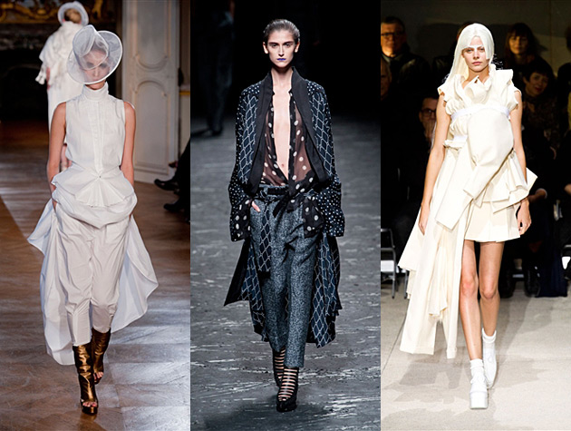 Paris Fashion Week Spring 2013 Hits - AF Vandevorst, Haider Ackermann, Comme des Garcons