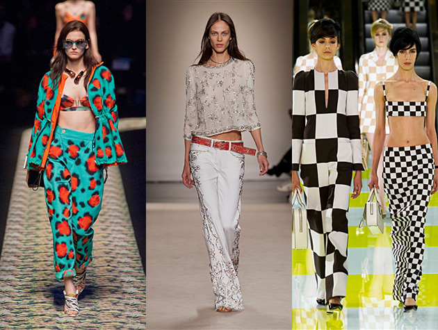 Paris Fashion Week Spring 2013 Misses - Kenzo, Isabel Marant, Louis Vuitton