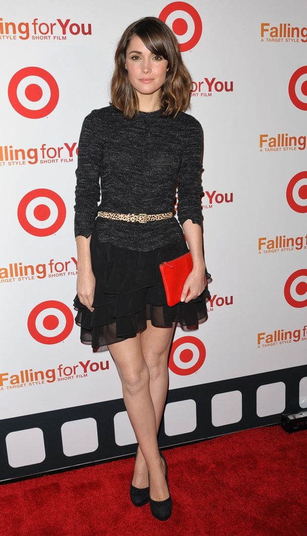 Rose Byrne Target Celebrates Falling For You New York City