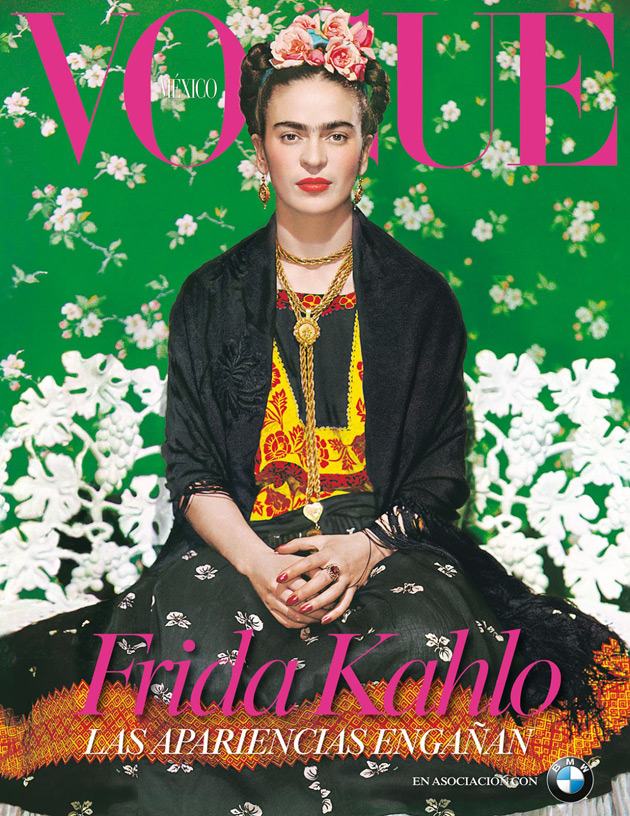Vogue Mexico November 2012 - Frida Kahlo