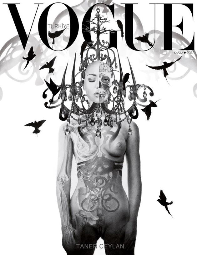 Vogue Turkey November 2012 - Art Issue image by Taner Ceylan
