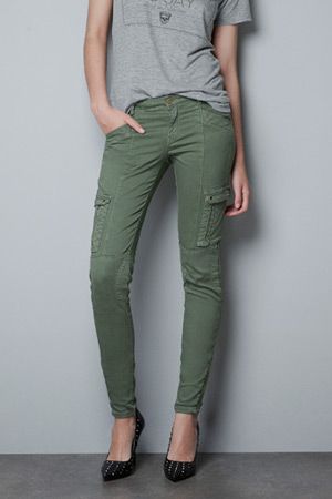 Zara TRF cargo pants - forum buys