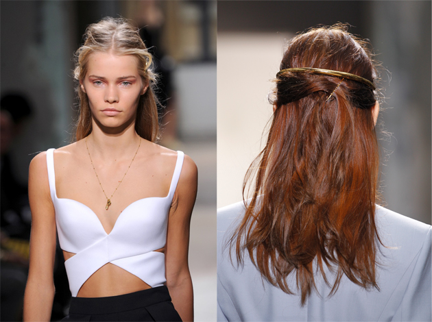 Voila Recreate Hairstyles Straight From The Paris Runways Thefashionspot