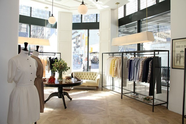 Boutique of the week maison kitsun thefashionspot for Maison a new york