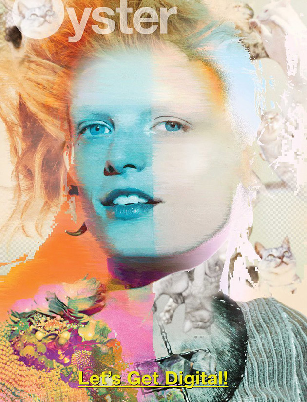 Oyster #101 - Hanne Gaby Odiele photographed by Will Davidson