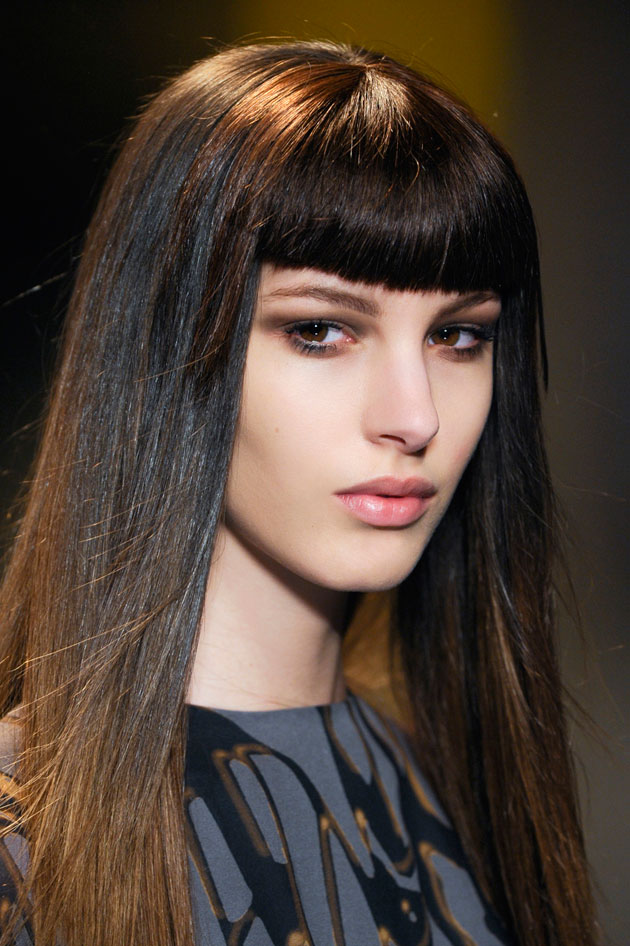 Stick Straight Hair In 5 Steps TheFashionSpot