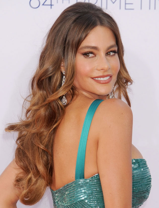 Hairspiration: Sofia Vergara's Waves at Emmy Awards