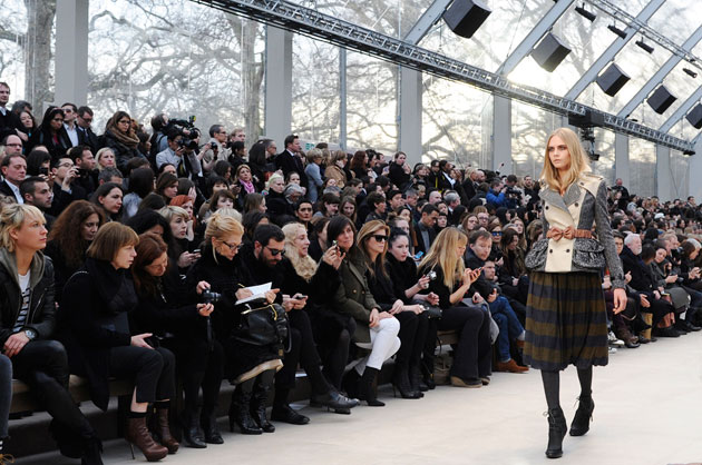 Burberry Fall 2012 show