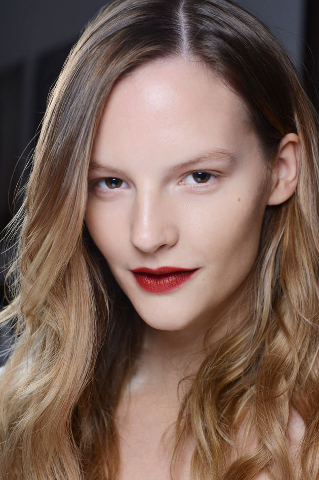 Burberry Prorsum beauty look Spring 2013
