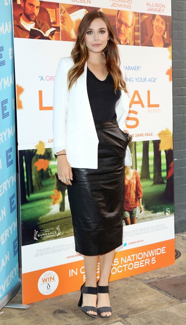 Elizabeth Olsen Liberal Arts screening London