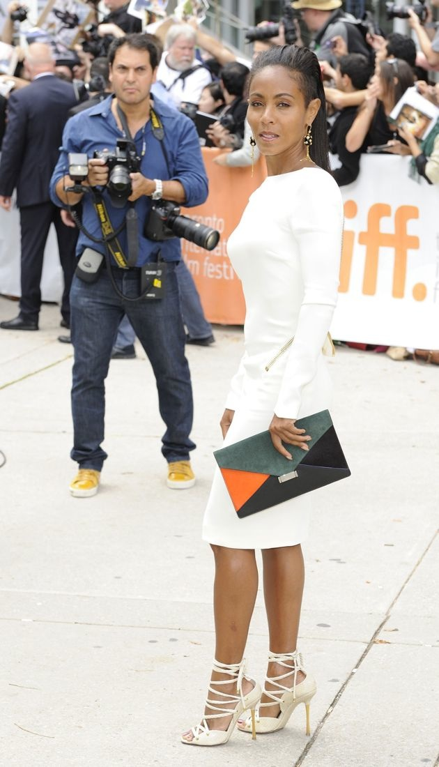 Jada Pinkett Smith 2012 Toronto Film Festival Free Angela and All Political Prisoners Premiere