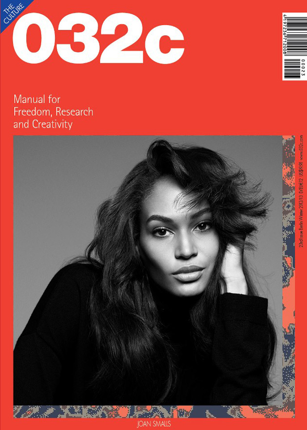 032c Fall 2012 issue - Joan Smalls by Sean & Seng
