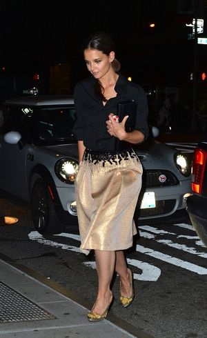 Katie Holmes 2012 Style Awards New York City Sept 2012