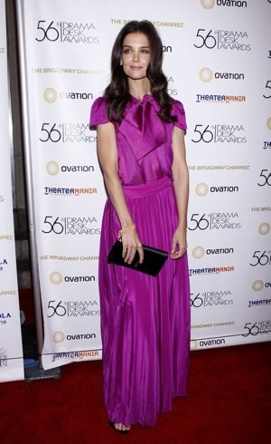 Katie Holmes 56th Annual Drama Desk Awards New York City May 2011