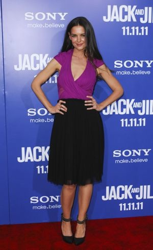 Katie Holmes Premiere of Jack And Jill Los Angeles Nov 2011