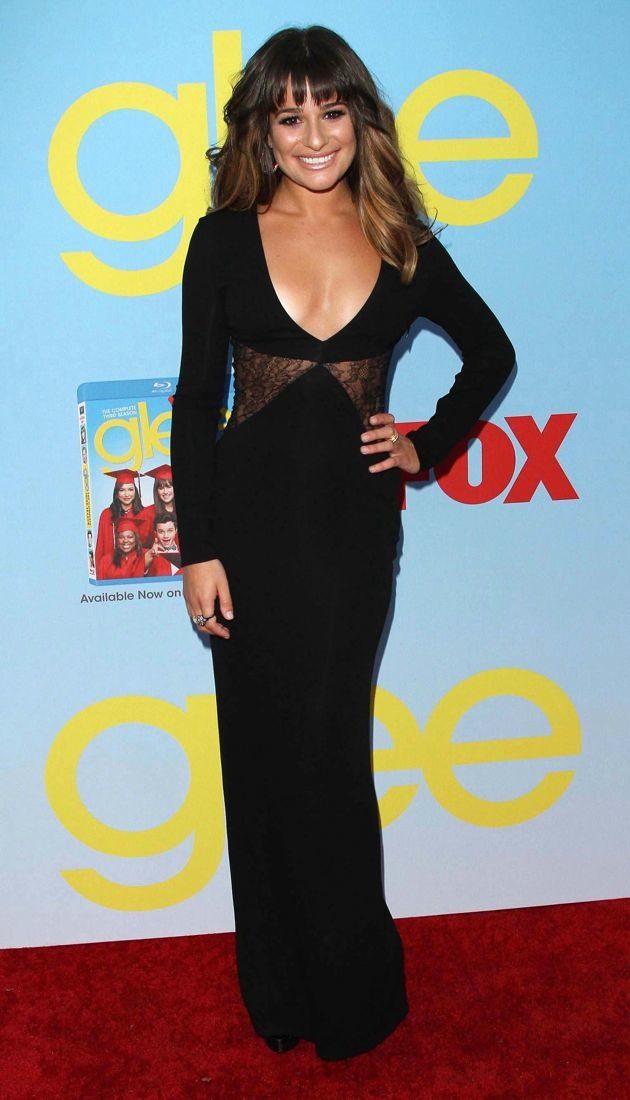 Lea Michele Glee Premiere Screening and Reception Hollywood